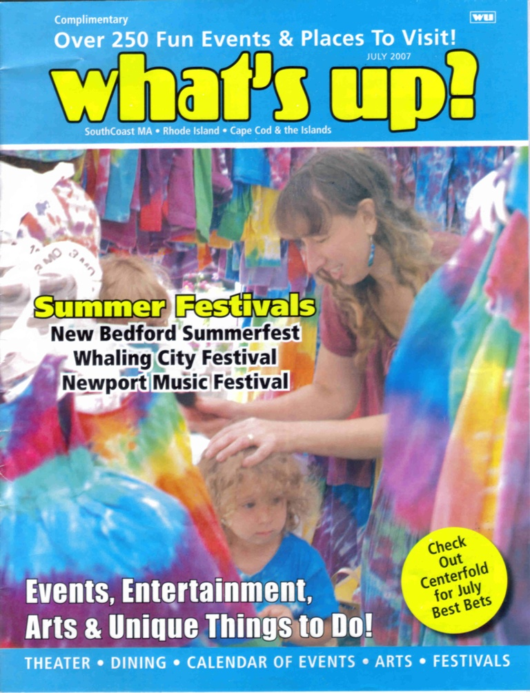 Now, imagine our suprise to find us on the cover of What`s Up? Magizine
