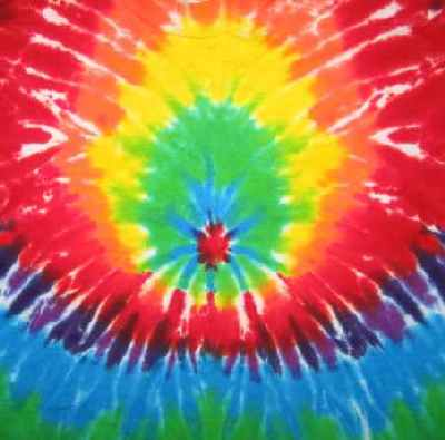 Rainbow Sunburst